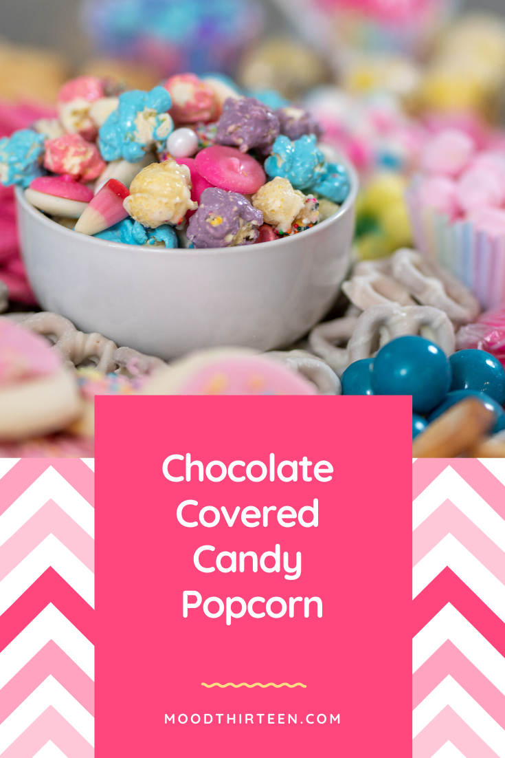 Chocolate Covered Candy Popcorn Recipe