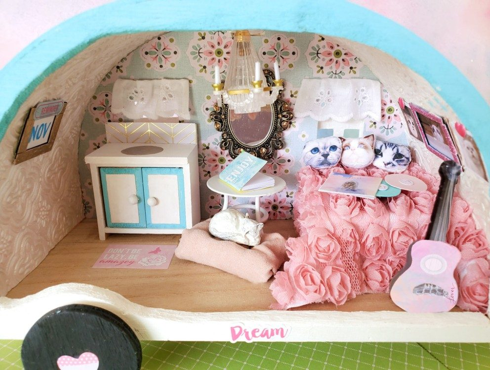 Lover Camper Diorama, August 2020, Paige McCafferty